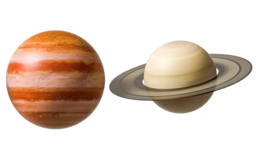 Saturn Jupiter konjunktionen 2020